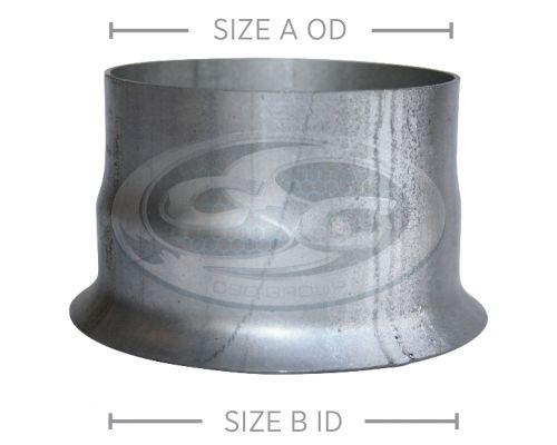 Aluminised 22° Lipped Flanges - Expanded
