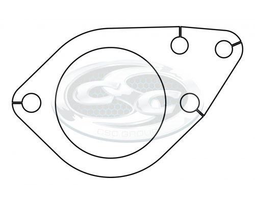 Ford Engine Pipe Turbo Plate