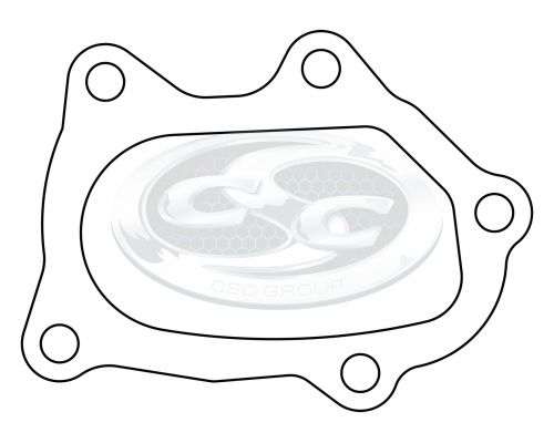Subaru WRX Outlet Header Plate