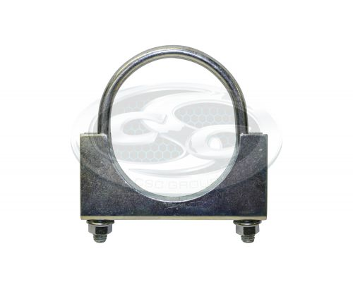 Zinc Plated Round Back Clamps