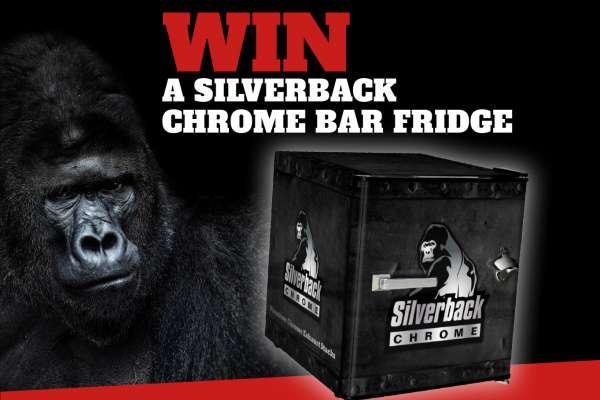 Win a Silverback Chrome Bar Fridge